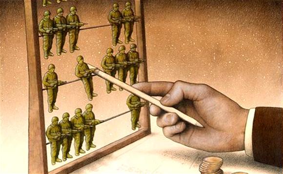 據說這些來自波蘭藝術家的諷刺漫畫,能震塌世界觀!