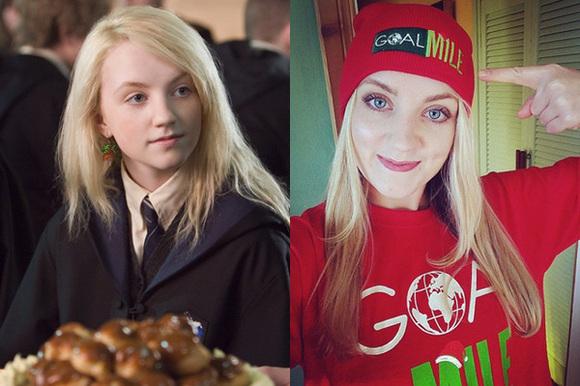 《哈利波特》電影的配角女大18變,每一個都超正的 ...
