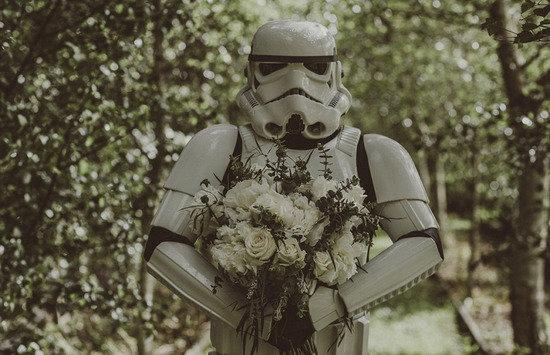 新西蘭新娘為另一半準備夢幻式「星球大戰」婚禮!